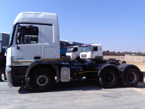 Unbeatable price for a Mercedes Actros MP2 truck
