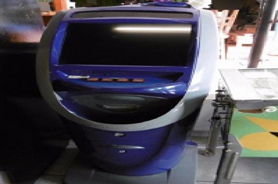 Blue Juke box