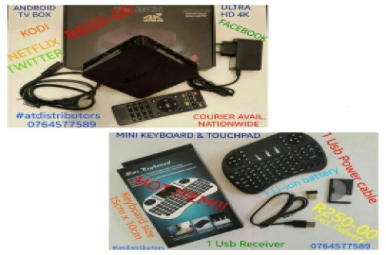 Android Tv Box & Mini Keyboard/Mouse   Junk Mail