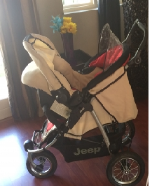 Jeep Stroller Pram With Car Seat Carrier
