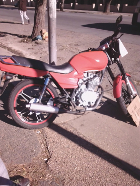 Zongshen 125cc for 3500 got no papers bike in every day use