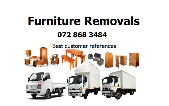 Furniture removals in Centurion