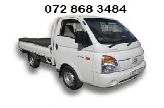 Hyundai H100 bakkie 2016 for hire