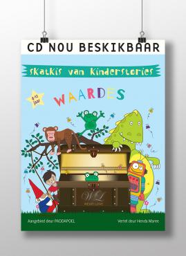 Oorspronklike Afrikaanse kinderverhale op CD!
