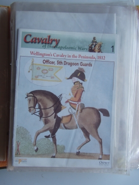 CAVALRY OF THE NAPOLEONIC WARS DEL PRADO ARMY COLLECTION Magazines only  from 1 to 38