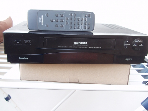 Telefunken Video machine - in excellent working order with remote
