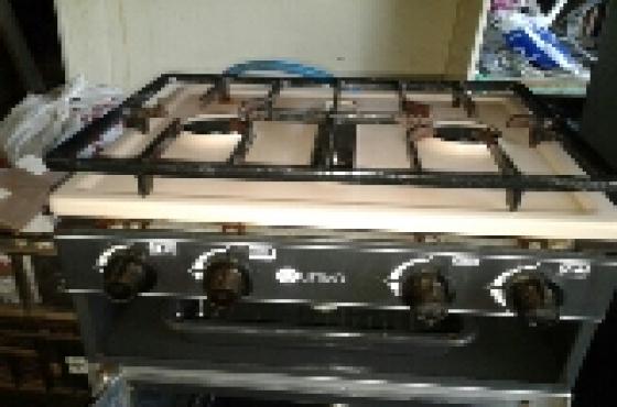 univa caravan gas stove set