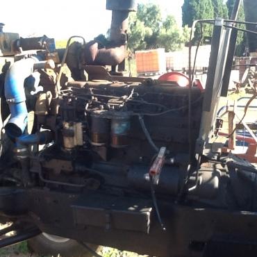 perkins turbo motor 6 cylinder