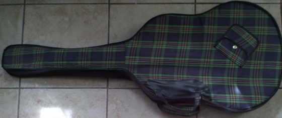 Hand Made Acoustic Guitar. With cover/ Carry case.