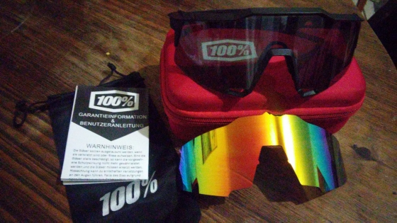 100% SpeedCraft Glasses 2lenses