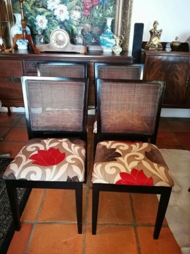 4 Dining Room Chairs & cane furniture in Dining Room Furniture in Cape Town | Junk Mail