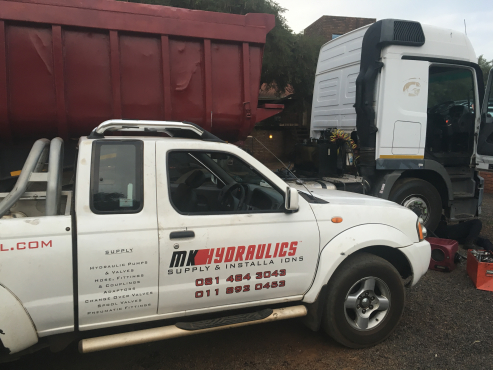 HYDRAULIC SYSTEM INSTALLATION ON DAF TRUCKS AT AFFORDABLE PRICES