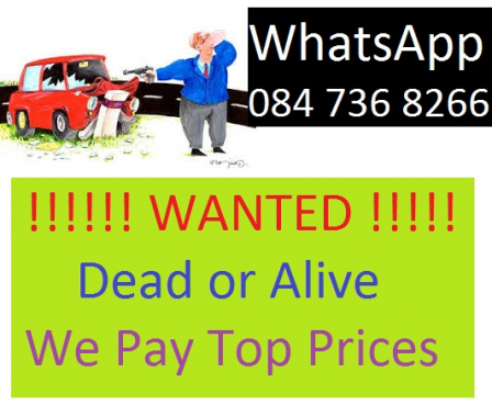 Car buyers of Used, Rusted, Non Runners, Accident Damaged and Code 2 and Code 3