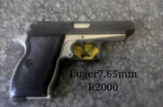 Luger Pistol cal.7.65mm