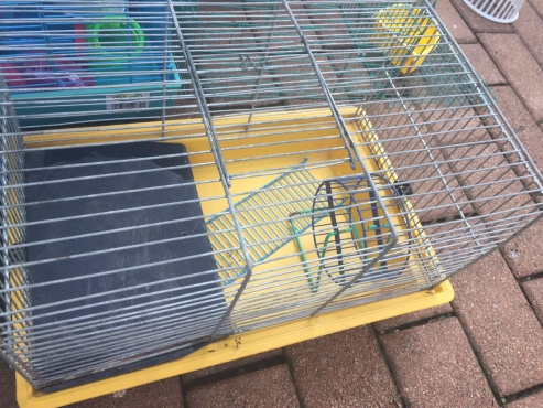 2 hamster/rat or mouse cages for sale