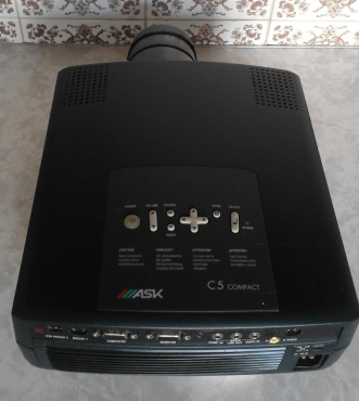 Projector for Presentation,DVD.Movies, PC. Used one, in good working condition. With Manual