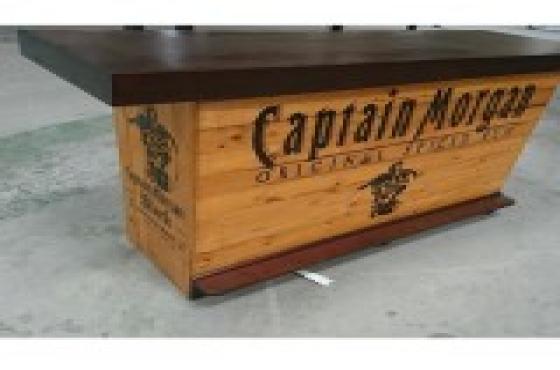 Branded Wooden bar