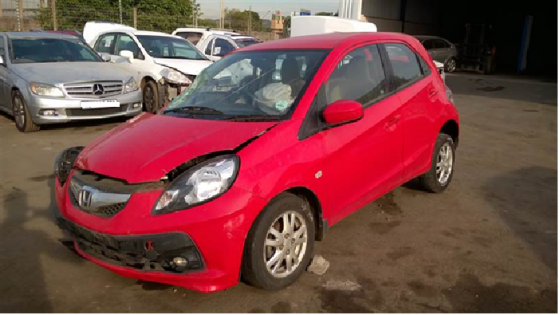 Honda Brio Stripping