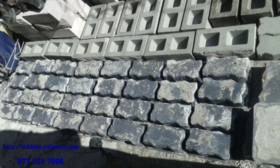 Manufacturing YOUR own Floor Tiles and Wall Cladding