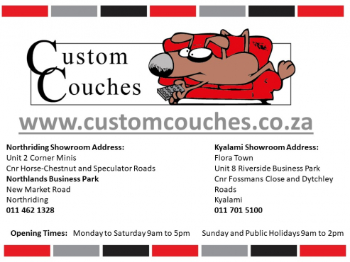 Custom Couches: The Toni Corner R6999