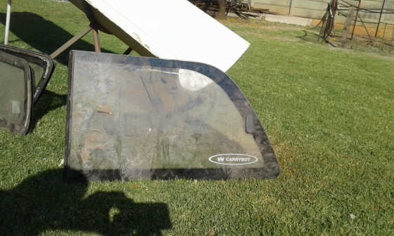 Various canopy and car windows for sale