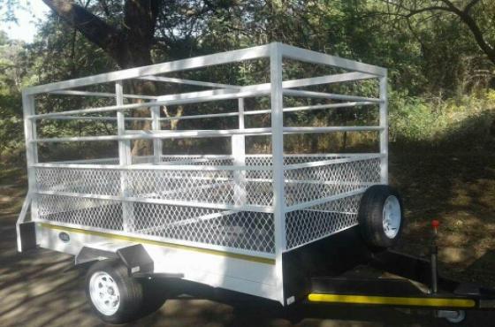 mini cattle trailer