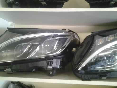 Mercedes Benz W205 double xenon Headlamps available  .