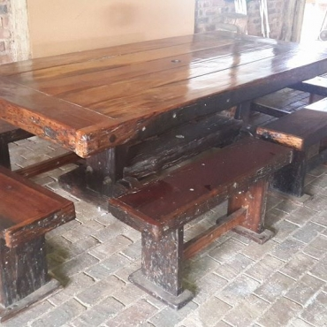 12 Seater Teak Table