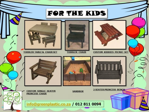 Kiddies Outdoor Furniture