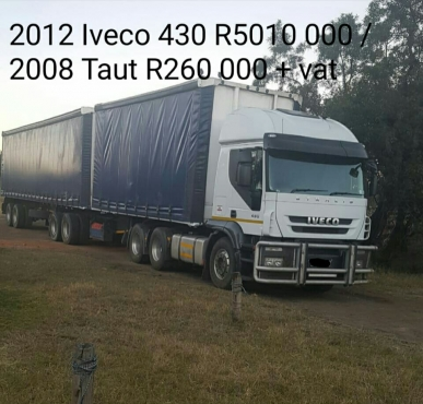 2012 Iveco truck