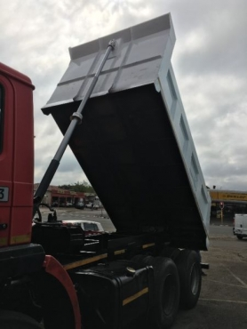 HYDRAULIC SYSTEM INSTALLATION ON TIPPERS  0814843043