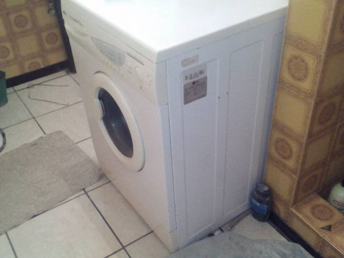Frontloader washing machine