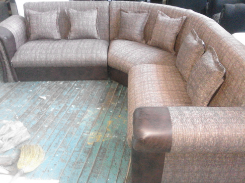 new U shape lounge suite