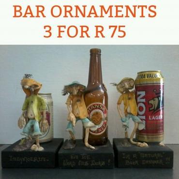 Bar ornaments