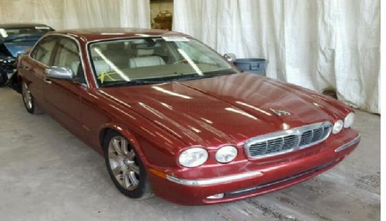 Jaguar XJ Stripping