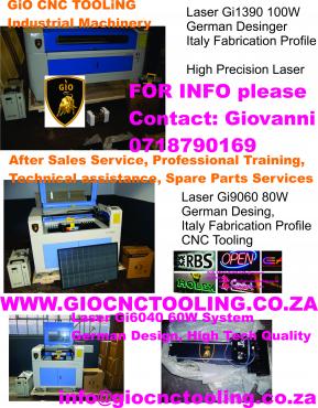 GTO SERIES CNC LASER Gi6040 ENGRAVING CUTTING MACHINES, GERMAN STYLE