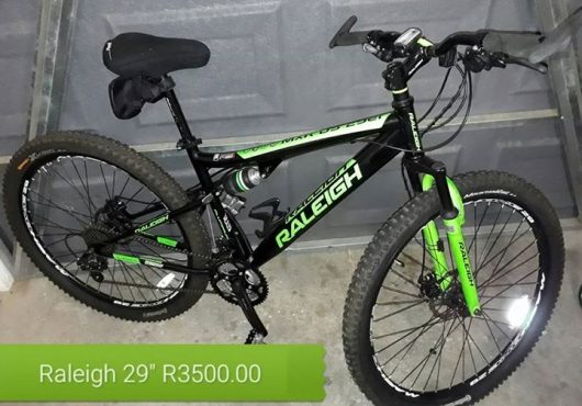 Raleigh bicycle for sale