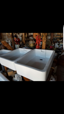New and second hand butler sinks
