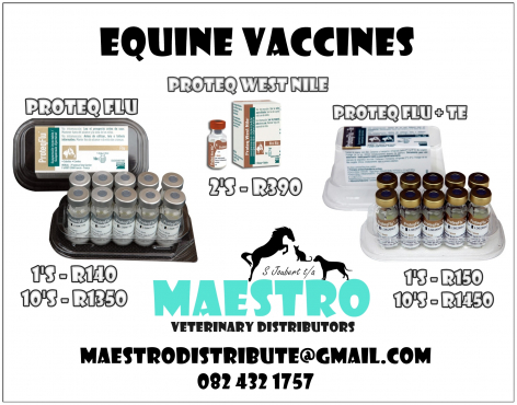 HORSE Wormers & Vaccines FOR SALE