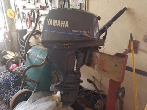 Yamaha 15hp four stroke for sale