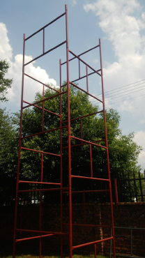 Scaffolding H frames 8m H for sale new