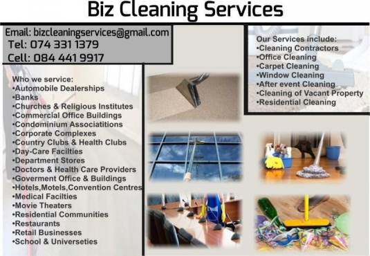 Commercial, Maids Hire & Residential cleaning