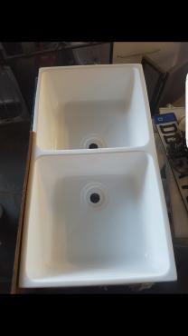 Double butler sinks