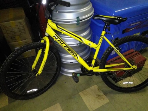 Raleigh bicycle, almost brand new