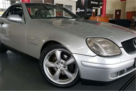 Mercedes Benz SLK 23