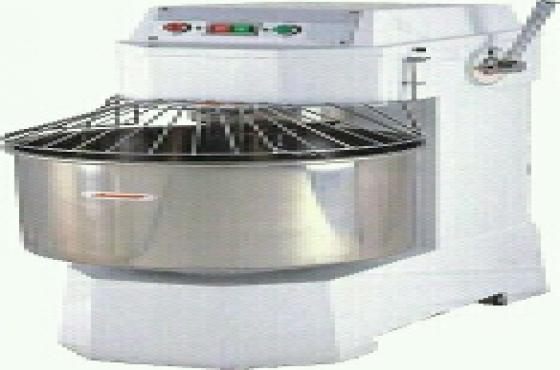 Brand new dough mixers, baking equipment