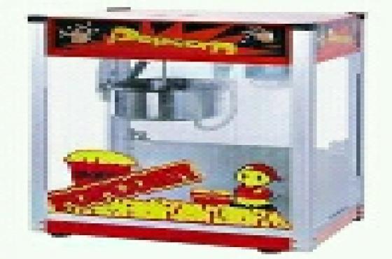 Brand new popcorn machines