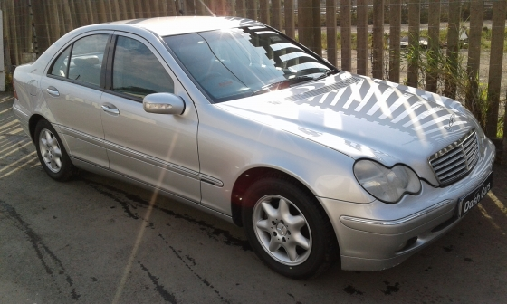 2003 Mercedes Benz C180 Auto Elegance with 295000km