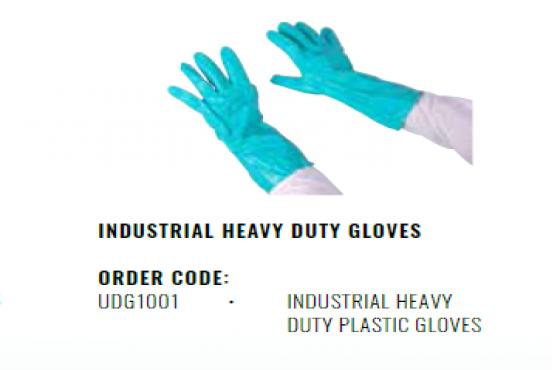 INDUSTRIAL HEAVY DUTY PLASTIC GLOVES