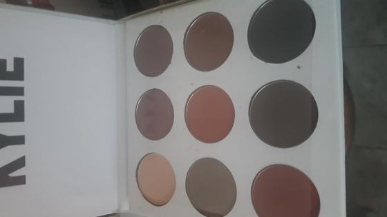 Kylie Kyshadow bronze palette.